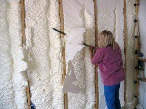 spray foam insulation rig