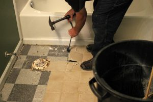 tile flooring removal service